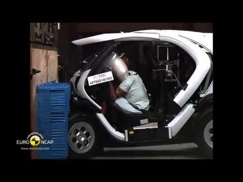 Euro NCAP Crash Test of Renault Twizy 2014