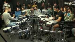 Paul Kholodyansky. Roland V Drums 2012. Tony Royster Jr.