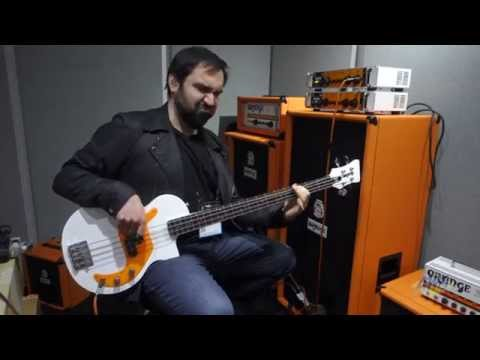 AMS at NAMM 2015 - Orange OB1 Bass Amplifier Head