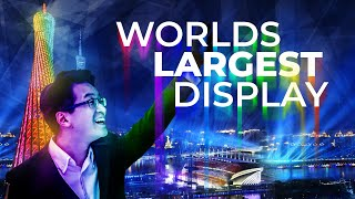 What does Collaboration have to do with the Worlds Largest Display?