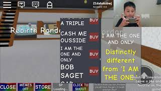 CHECK THIS OUT!! Zid playing Roblox shouting simulator..