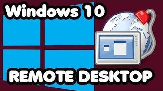 Remote Desktop Windows 10 Computer fernsteuern