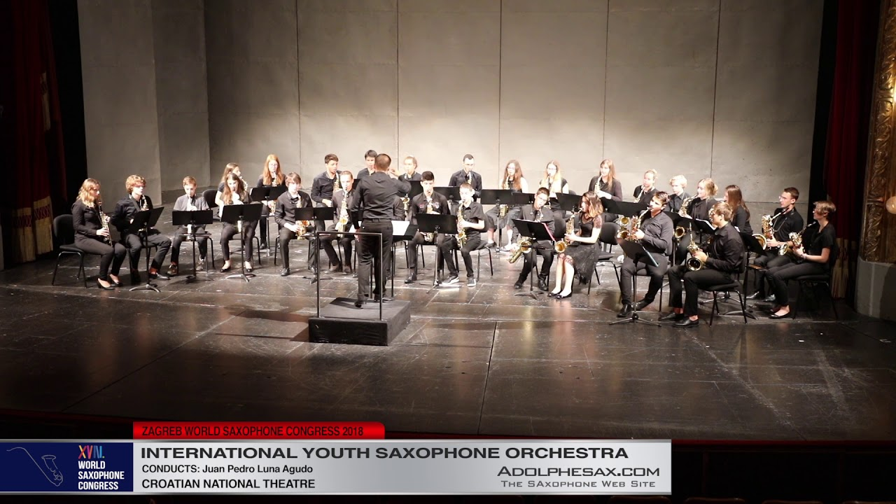 3   Youth Saxophone Orchestra   XVIII World Sax Congress 2018 #adolphesax