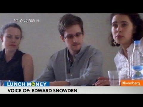Edward Snowden Speaks: Leaking NSA Details Was Right Thing