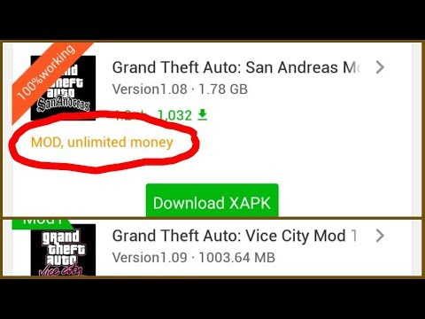 How To Download GTA San Andreas Mod And Vice City Mod