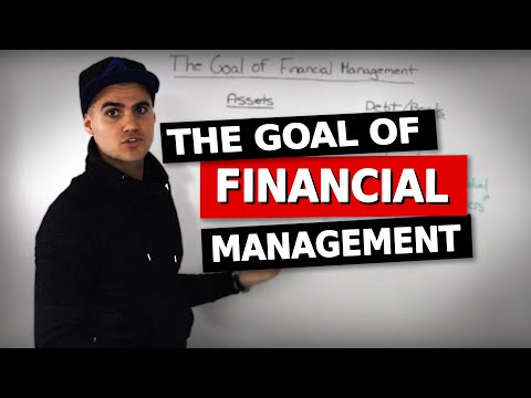 FIN 300 - The Goal of Financial Management - Ryerson University