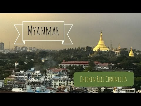 Yangon and Bagan Myanmar | 4K Travel Vlog | DJI Osmo Mobile | Ultra HD | Chicken Rice Chronicles