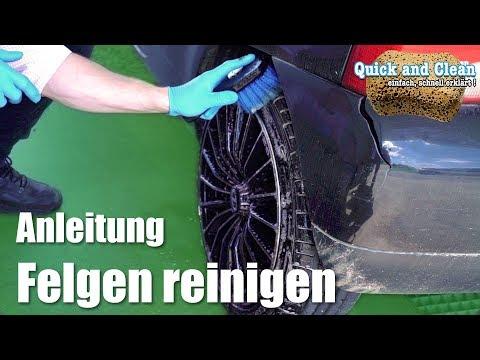 Anleitung: Alufelgen reinigen | schnelle und einfache Felgenreinigung | Quick & Clean