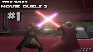 Let´s Play Movie Duels 2 [Jedi Academy Mod] - #1 - Die Schabracke [German] [HD]