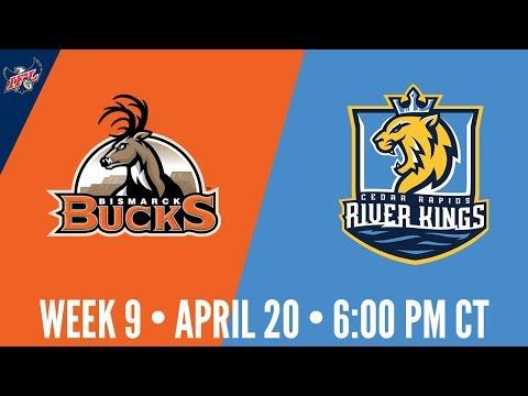 Week 9 | Bismarck Bucks at Cedar Rapids River Kings