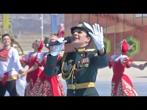 Ансамбль песни и пляски ЗВО в Китай на открытие Армейских Международных Игр 2019 Катюша