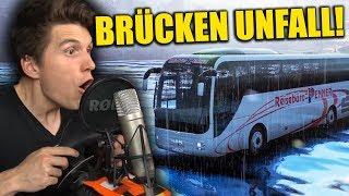 DIESER BUS FÄHRT AUF DEM WASSER! ✪ FERNBUS SIMULATOR mit LENKRAD