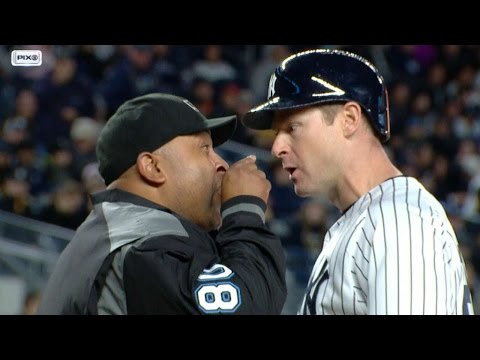 HOU@NYY: Headley ejected for arguing with umpire