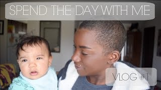 SPEND THE DAY WITH ME | VLOG #1 | BEAUTY BY KANDI