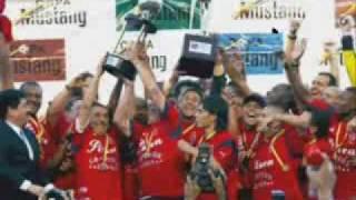 Deportivo Independiente Medellin DIM Campeón del Fútbol Colombiano 2009 - Celebración