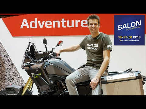 Salon Moto Bruxelles 2019 : Pluie de grosses nouveautés trail pour cette année !