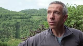 Ferme du Carrégaut: séchage solaire de fourrage en grange