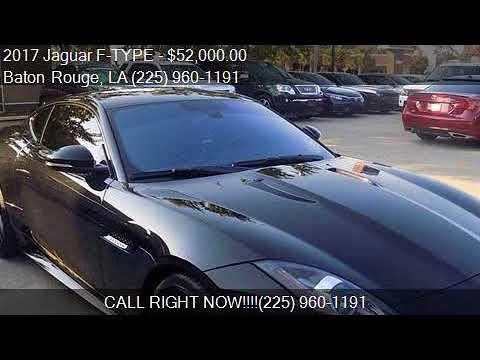 2017 Jaguar F TYPE Base 2dr Coupe 8A For Sale In Baton Rouge