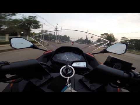 Monkey RiDer Mike42 Test Speed Kawasaki Ninja 300 ABS (No top speed ) TH