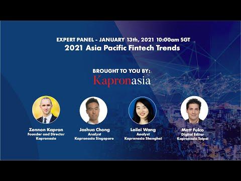 Kapronasia 2021 Asia Pacific Fintech Trends
