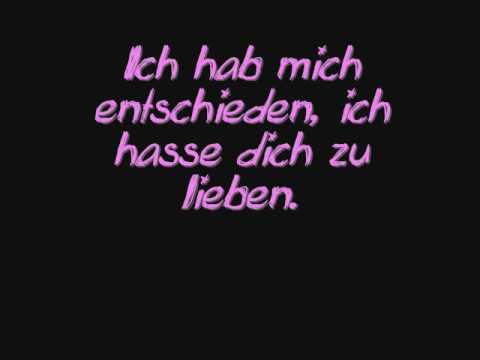 LaFee - Scheiss Liebe [lyrics]