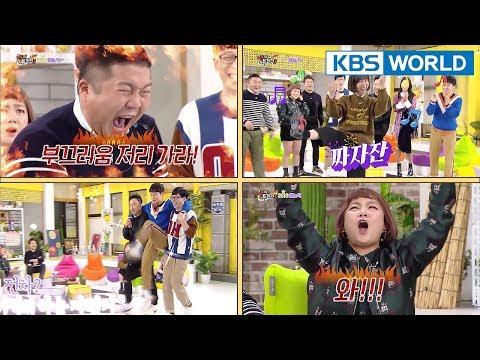 Happy Together   해피투게더 – Park Narae, Heo Kyeonghwan, Park Jiseon, Cho Saeho [ENG/2018.02.15]