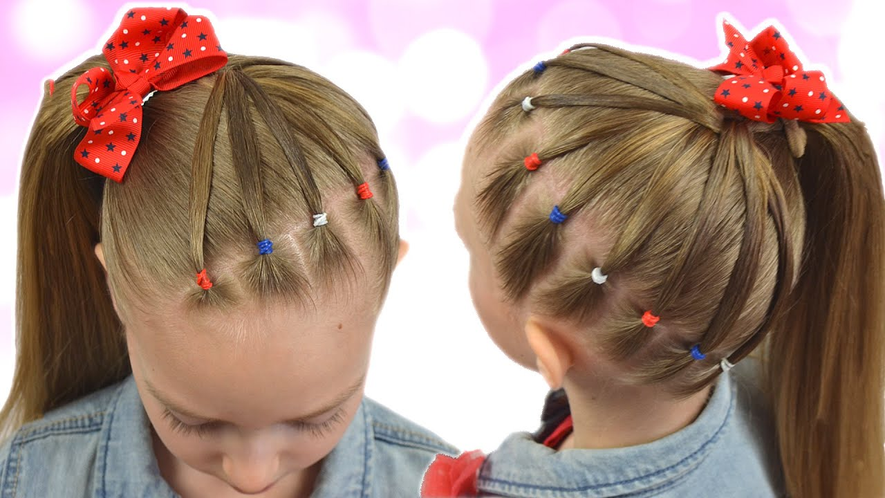 CUTE & EASY EVERYDAY HAIRSTYLE with PIGTAILS and ELASTICS | 2020 HairStyles for Girls - YouTube