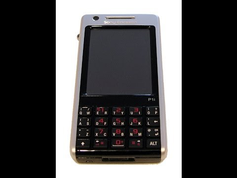 Sony Ericsson P1 Elena disassembly