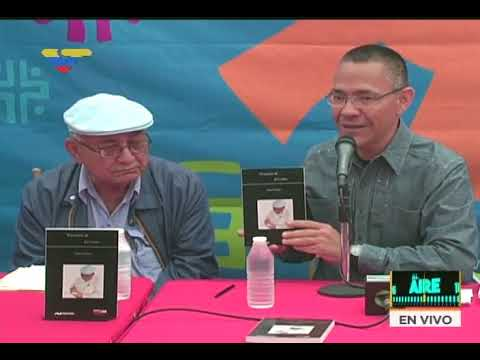 """Julio Chirinos presentó su libro """"Vivencias de El Cabito"""" en Filven junto a Ernesto Villegas"""
