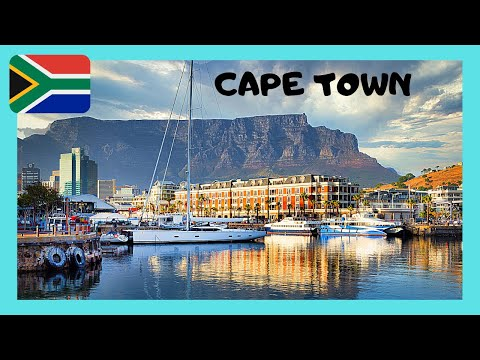 Entering the PORT of CAPE TOWN in SOUTH AFRICA