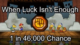 Manipulating a 1 in 46,000 Chance - When Luck Just Isn