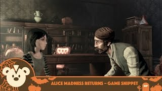 Game Snippet | Alice Madness Returns Gameplay and Commentary (PS3 1080p)