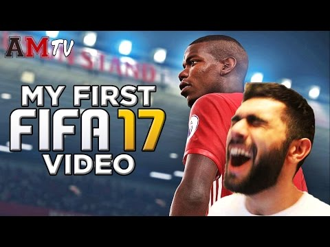 MY FIRST FIFA 17 VIDEO!