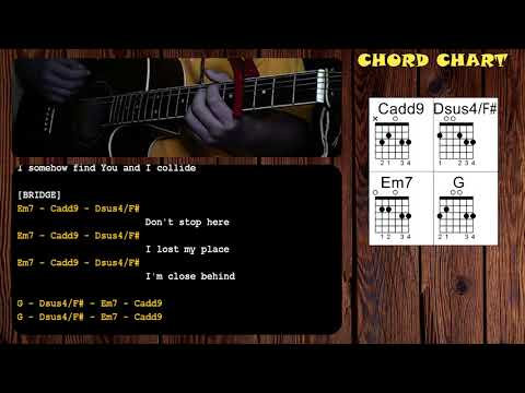 Collide by Howie Day - Guitar Chords