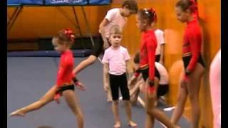 Спортивная акробатика - часть 1