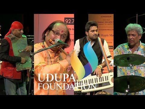 Udupa Music Festival - Trilok Gurtu, Sivamani, Pandit Ronu Majumdar & Stephen Devassy