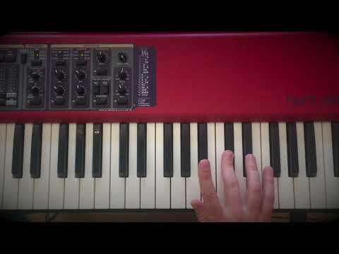 Sidestepping - udvidet jazz blues (klaver)