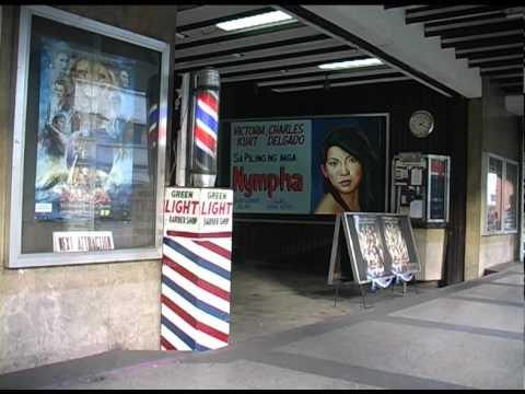 Nympha showing at Roben Cinema, Manila.dv
