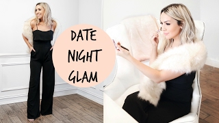 GLAM VALENTINE'S DAY GRWM! MAKEUP + OUTFIT!