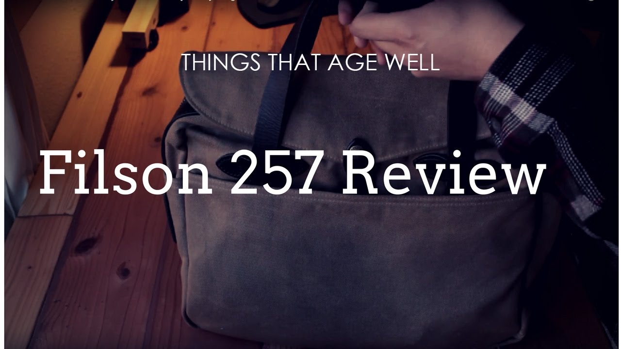 Filson 257 Bag Review My Beloved Daily Carry