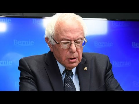 Bernie Sanders Gets Cold Senate Reception