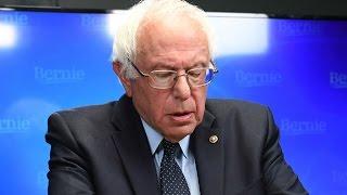 Bernie Sanders Gets Cold Senate Reception
