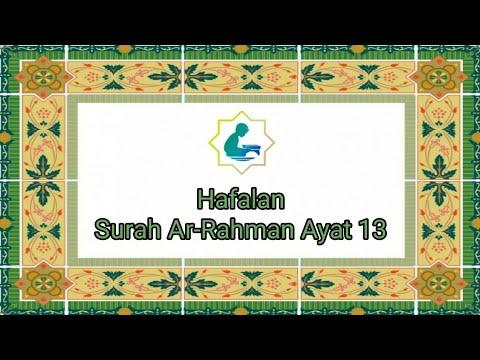 Bacaan Hafalan Termerdu Surah Ar Rahman Ayat 13 Odoah