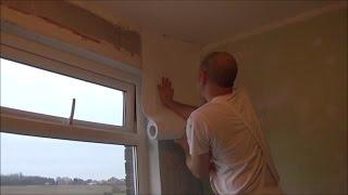 How to hang Wallrock thermal liner to walls