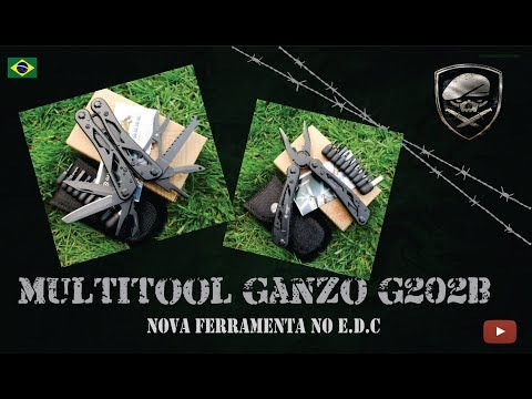 Multitool Ganzo 202b Upgrade No E.D.C