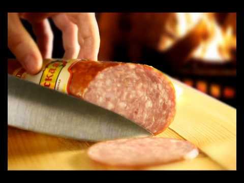 Австрийская полукопченая колбаса