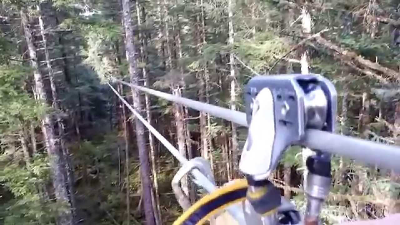 & Ziplining in Juneau with Alaska Canopy Adventures - YouTube