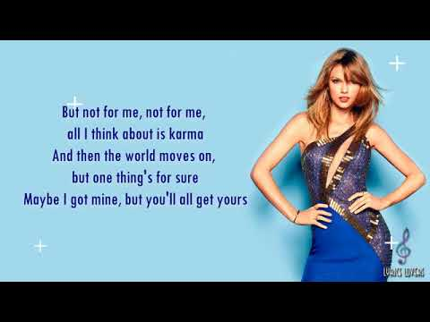 Taylor Swift   Look What You Made Me Do LYRICS [MP3 DOWNLOAD]