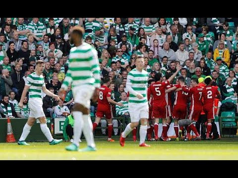 Celtic 0-1 Aberdeen: Andrew Considine strike seals second place