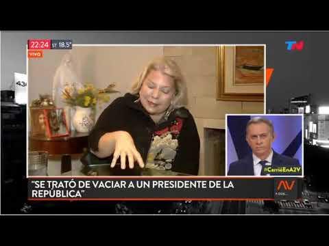 """Elisa Carrió en """"A dos voces"""" - 26/09/2018"""